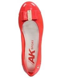 Anne Klein - Red Womens Aricia Closed Toe Slide Flats - Lyst