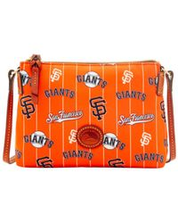 Dooney & Bourke - Orange San Francisco Giants Nylon Crossbody Pouchette - Lyst