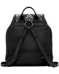 Vince Camuto - Black Bonny Leather Backpack - Lyst