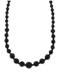 2028 | Black Necklace, Jet Bead | Lyst