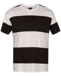 Hurley - Black Rugby T-shirt for Men - Lyst