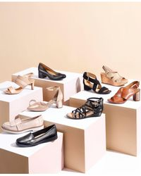 Clarks - Black Women's Laureti Joy Ankle Strap - Lyst