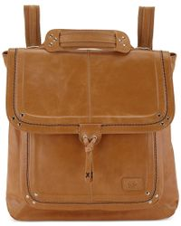 The Sak | Natural Ventura Small Leather Backpack | Lyst