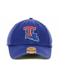 47 Brand - Blue Louisiana Tech Bulldogs Ncaa '47 Franchise Cap for Men - Lyst