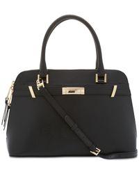Calvin Klein - Black Brooke Large Dome Satchel - Lyst
