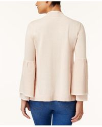 Style & Co. - Multicolor Bell-sleeve Sweater - Lyst