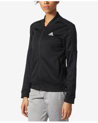 Adidas | Black Snap-side Track Jacket | Lyst