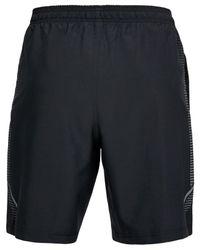 "Under Armour - Black Lightweight Woven 8"" Shorts for Men - Lyst"