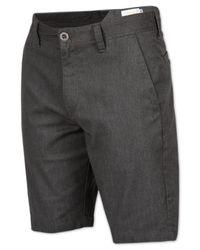 Volcom - Gray Men's Frickin Mod Stretch Shorts for Men - Lyst