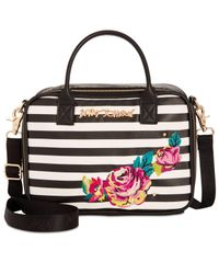 Betsey Johnson   Multicolor Embroidery Lunch Tote   Lyst