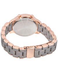 INC International Concepts - Gray Digital Boyfriend Rose Gold-tone & Silicone Bracelet Watch 36mm, Created For Macy's - Lyst