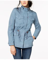 Levi's - Blue ® Lightweight Cotton Field Jacket - Lyst