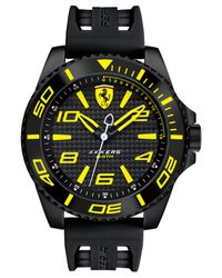 Ferrari | Men's Xx Kers Black Silicone Strap Watch 50mm 830307 for Men | Lyst