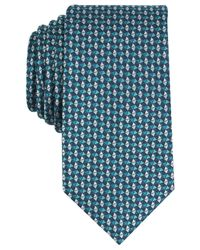 Perry Ellis - Blue Men's Templar Neat Silk Tie for Men - Lyst