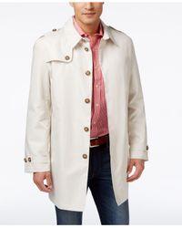 Tommy Hilfiger - Metallic Men's Fletch Solid Rain Coat for Men - Lyst