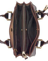 CALVIN KLEIN 205W39NYC - Black Brynn Leather Mini Crossbody - Lyst