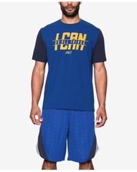 Under Armour - Blue Men's Stephen Curry T-shirt for Men - Lyst