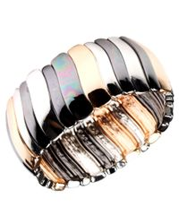 Nine West - Multicolor Bracelet, Tri Tone Stretch Bracelet - Lyst