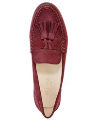 Cole Haan | Red Emmons Tassel Loafers | Lyst