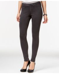 Hue | Gray Original Denim Leggings, A Macy's Exclusive | Lyst