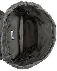 Steve Madden Green Coated Utility Backpack for men