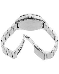 Seiko Metallic Men's Solar Essentials Stainless Steel Bracelet Watch 43mm for men