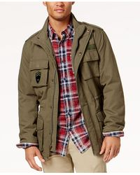 American Rag | Multicolor Men's Patched Field Jacket for Men | Lyst