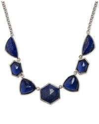 Vera Bradley | Metallic Multi-stone Collar Necklace | Lyst