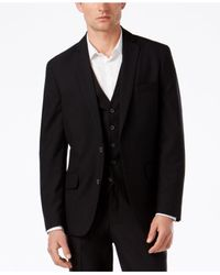 INC International Concepts | Black Men's Textured Clark Suit Jacket, An Everyday Value, Only At Macy's for Men | Lyst