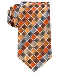 Geoffrey Beene - Orange Ageless Box Ii Tie for Men - Lyst