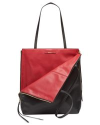 DKNY - Black Mey Reversible Tall Medium Tote, Created For Macy's - Lyst