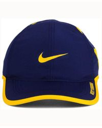 Nike Blue West Virginia Mountaineers Featherlight Cap for men