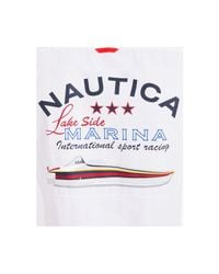 Nautica - White Lakeside Woven Classic Fit Shirt for Men - Lyst