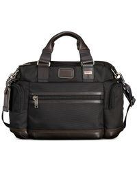 Tumi   Brown Alpha Bravo Brooks Slim Briefcase for Men   Lyst