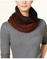 Steve Madden - Black Rise And Shine Snood - Lyst