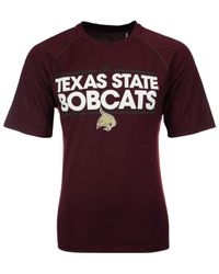 Adidas Purple Men's Texas State Bobcats Dassler T-shirt for men