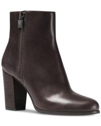 MICHAEL Michael Kors - Multicolor Margaret Bootie (charcoal Polished Cow Leather) Boots - Lyst