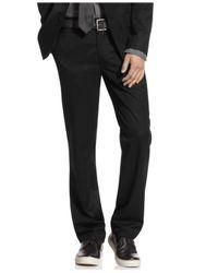 Kenneth Cole Reaction   Black Pants, Slim Fit Dress Pants for Men   Lyst
