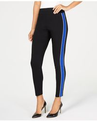 INC International Concepts - Blue I.n.c. Side-stripe Skinny Pants, Created For Macy's - Lyst