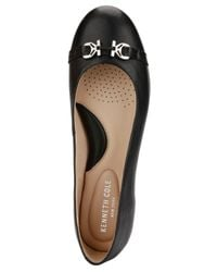 Kenneth Cole - Black Gale Flats - Lyst