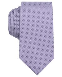 Perry Ellis | Purple Men's Khaly Mini Neat Tie for Men | Lyst