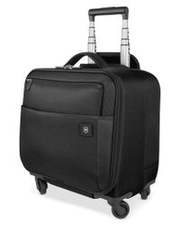 "Victorinox | Black Closeout! Victorinox Avolve 2.0 14"" Carry On Overnight Spinner Suitcase 