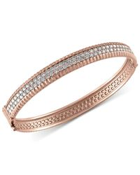 Effy Collection - Metallic Diamond Bangle Bracelet (2-1/6 Ct. T.w.) In 14k White, Yellow And Rose Gold - Lyst