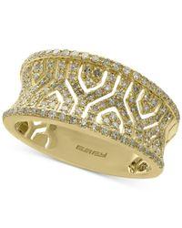 Effy Collection - Metallic Effy® Diamond Band (1/2 Ct. T.w.) In 14k Gold - Lyst