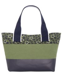 Tommy Hilfiger - Multicolor Classic Tommy Canvas Floral Tote - Lyst