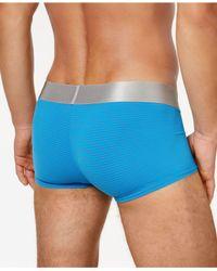 Calvin Klein - Blue Steel Micro Low Rise Trunk for Men - Lyst