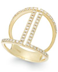 Effy Collection - Metallic Diamond Ring In 14k Gold (5/8 Ct. T.w.) - Lyst