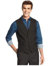 INC International Concepts - Black Vest, Clark Vest for Men - Lyst