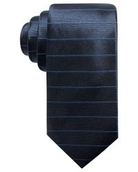 Alfani - Blue Men's Stripe Silk Slim Tie, Created For Macy's for Men - Lyst