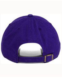 47 Brand - Purple Arizona Diamondbacks Cooperstown Clean Up Cap for Men - Lyst
